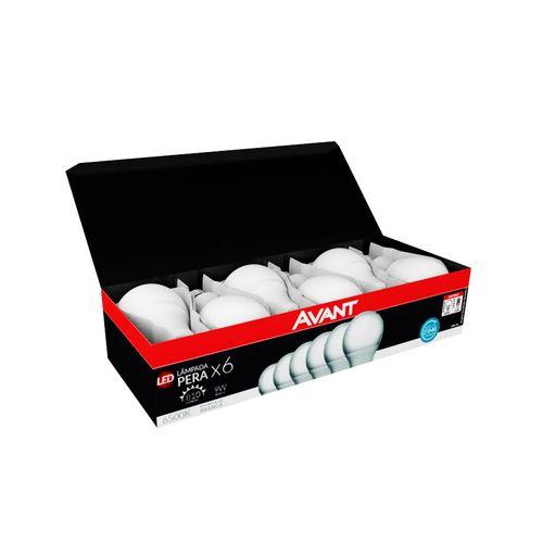 Pack-Lampada-Avant-Led-Bulbo-9W-6500K-Com-6-Pecas